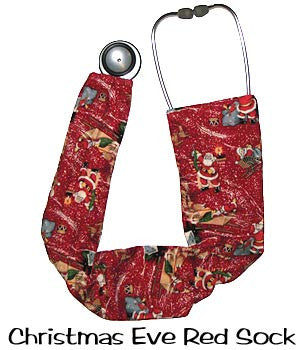 Stethoscopes Covers Christmas Eve Red