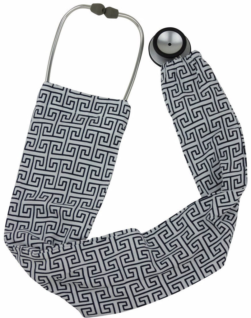 Stethoscope Socks Greek Geokey