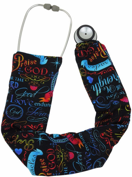 Stethoscope Covers Words of Faith