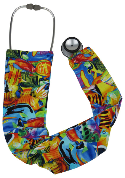 Stethoscope Socks Coral Reef