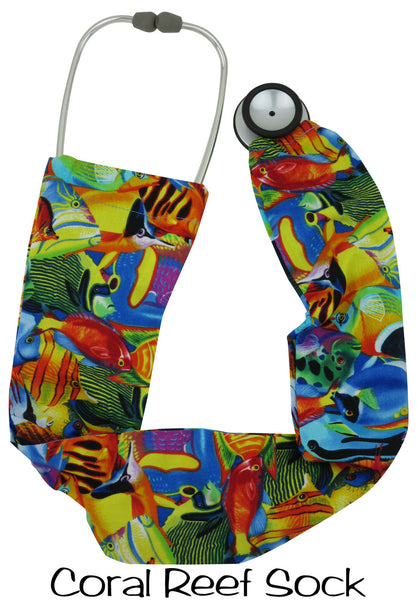 Stethoscope Cover Coral Reef