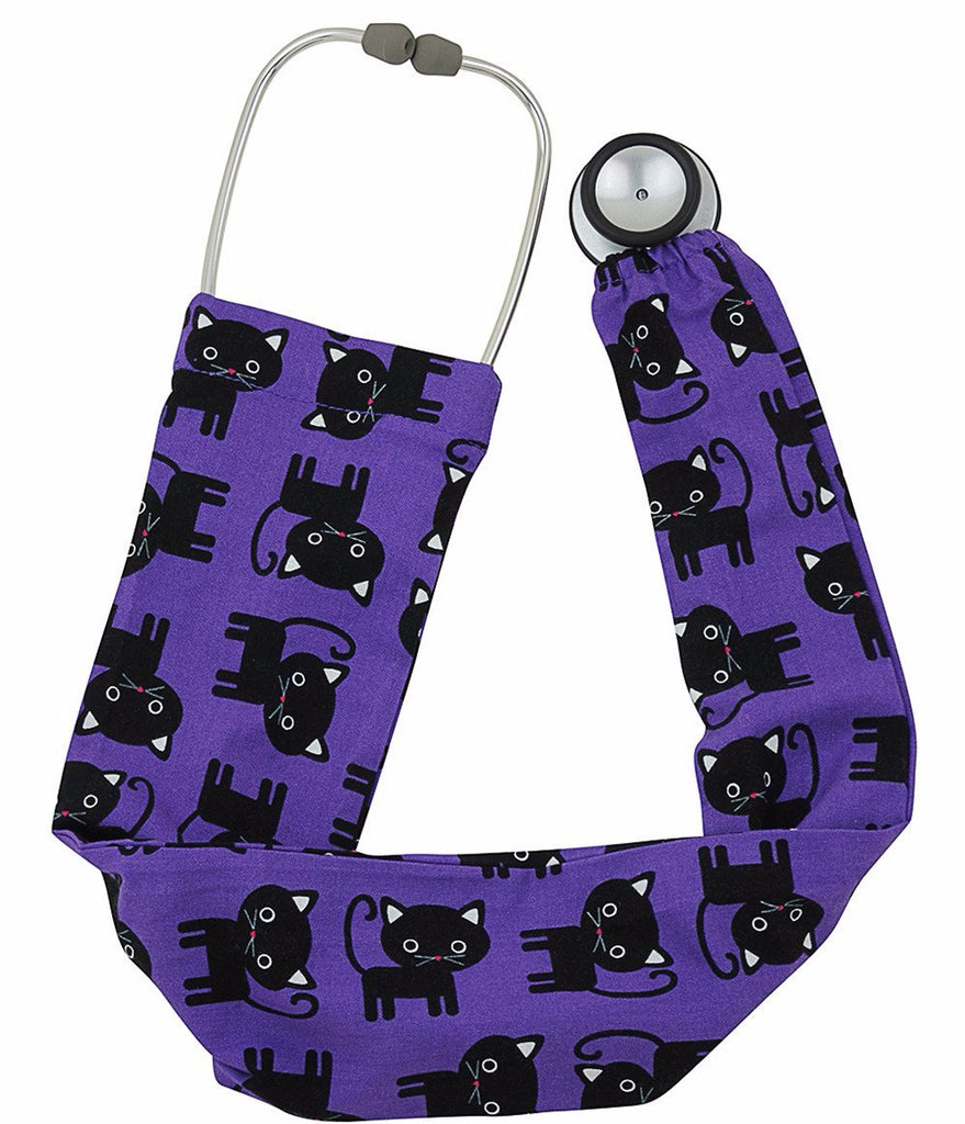 Stethoscope Socks Black Cats
