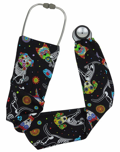 Stethoscope Socks Bone Dog
