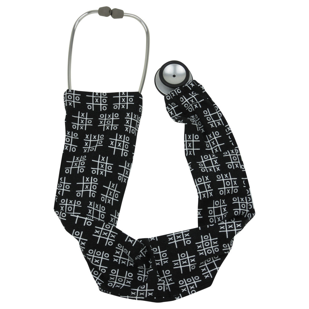Stethoscope Covers Tic Tac Toe