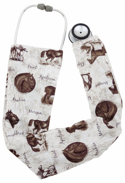 Stethoscope Socks Horse Trails
