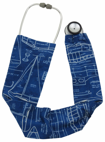 Stethoscope Socks Vintage Boats