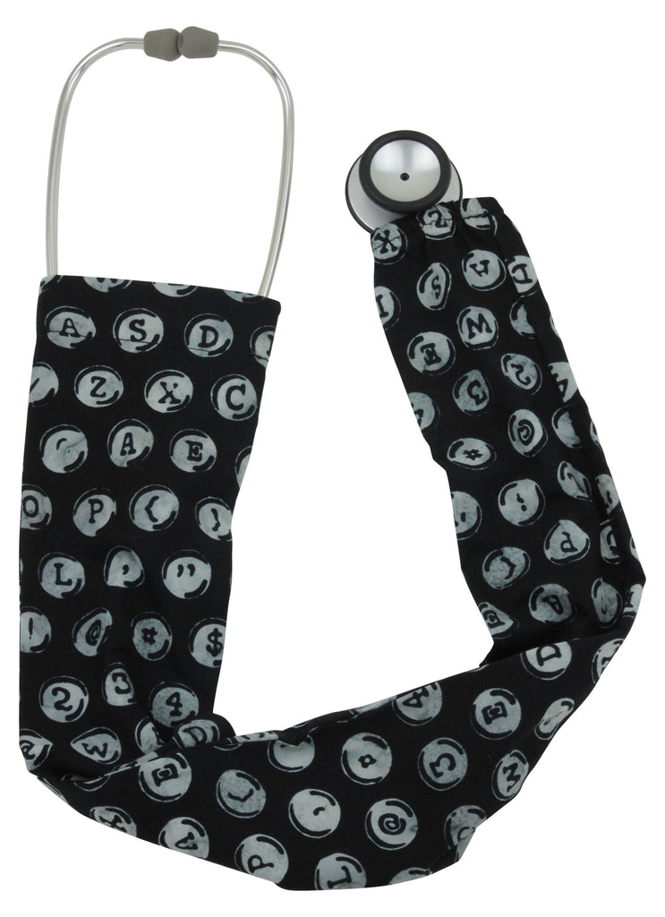 Stethoscope Socks TypeWriter