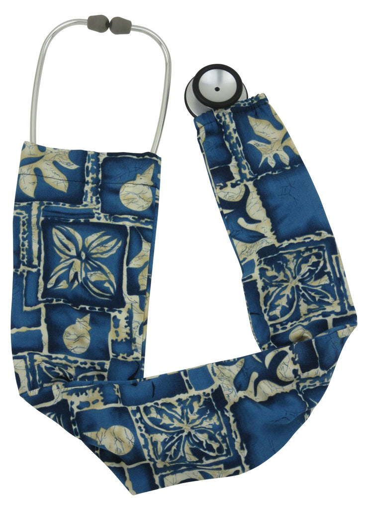 Stethoscope Covers Tropical Indigo