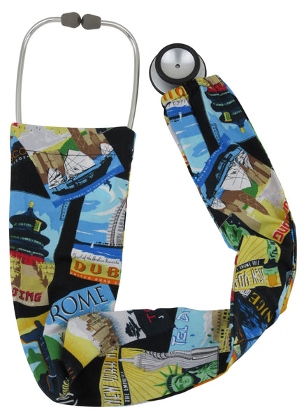 Stethoscope Socks World Traveller