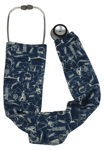 Stethoscope Cover Gone Fishing