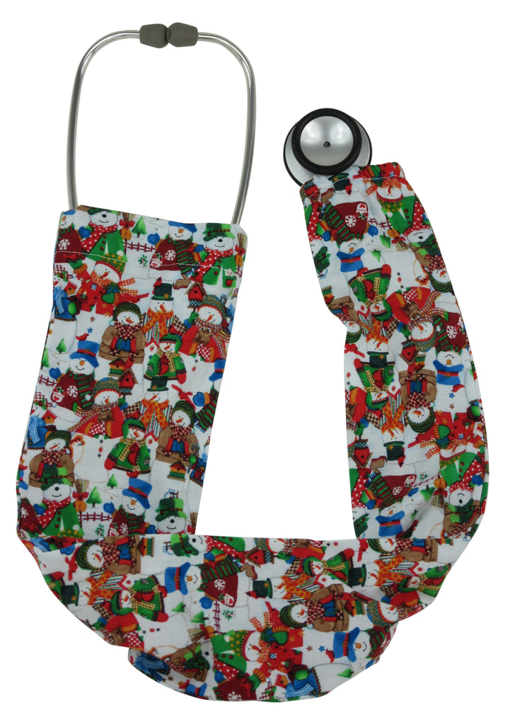 Stethoscope Covers White Christmas
