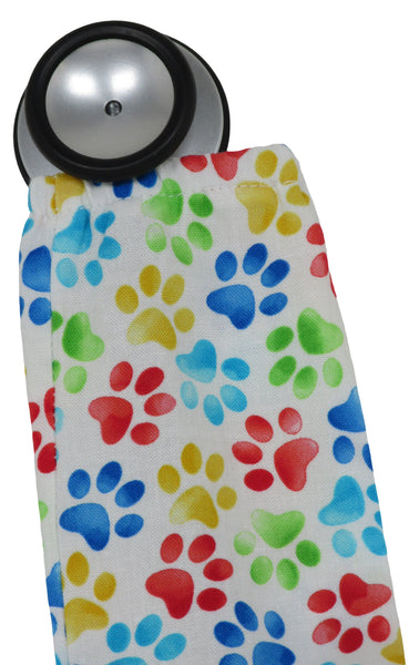 Stethoscopes Sock Cats Paws White
