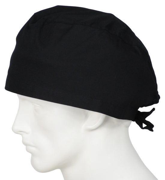 XL Scrub Cap Midnight Black