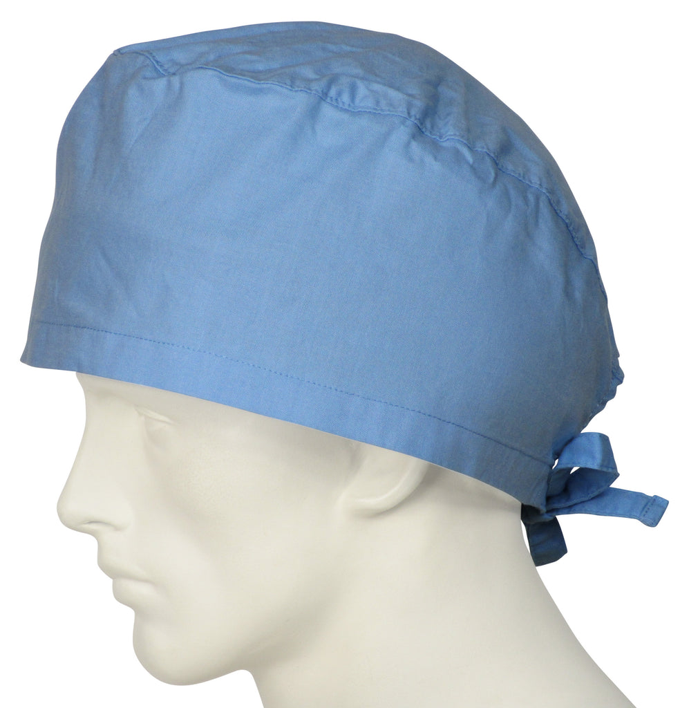 XL Scrub Surgical Cap Candy Blue