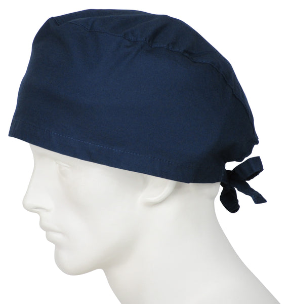 XL Scrub Cap Deep Navy