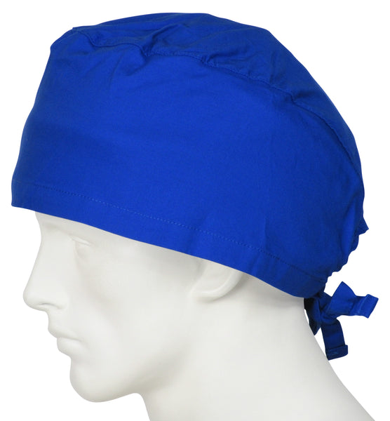 XL Scrub Surgical Hats Ocean Blue