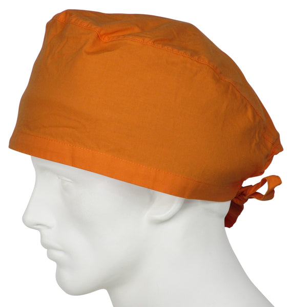 XL Surgical Scrub Hat Sunrise Orange