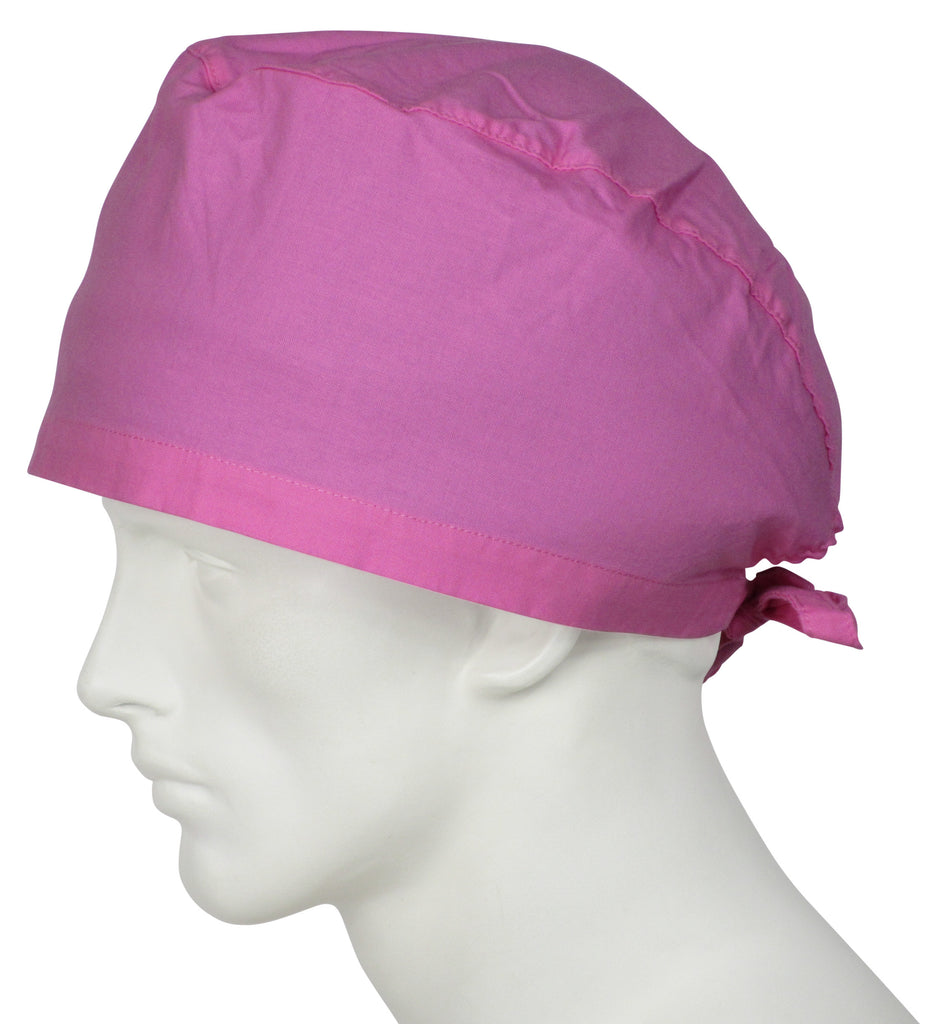 XL Surgical Scrub Hat Sweet Pink