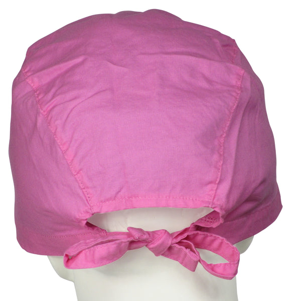 XL Surgical Scrub Cap Sweet Pink