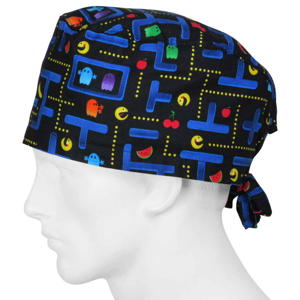 Scrub XLarge Hats Arcade Wizards