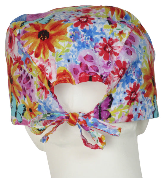 XL Surgical Cap Fall Bloom