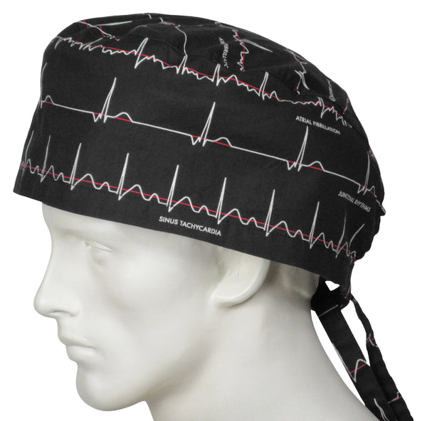 XL Surgical Caps Electrocardiogram