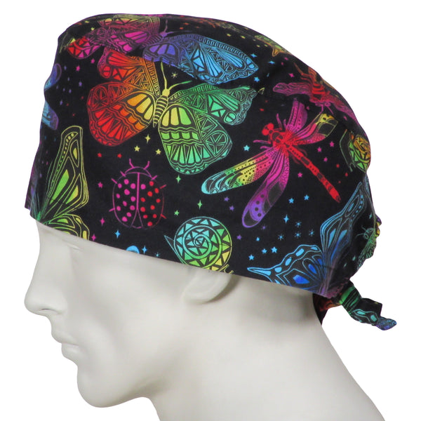 XL Surgical Hats Butterfly World