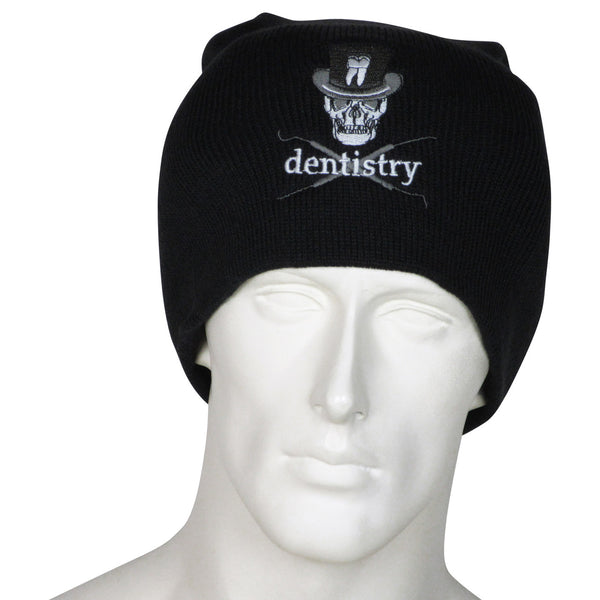 Dentistry Skull Beanie Long