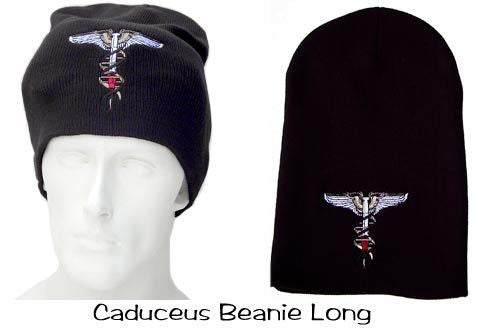Caduceus Beanie Long