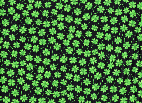 Close Up Shamrock Clovers