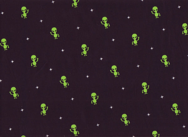 Close-up Fabric Aliens 51