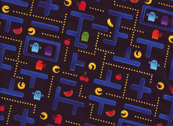 Close-up Fabric XLarge Arcade Wizards