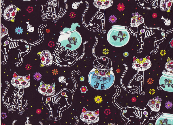Close-up Fabric Bad Kitty 2