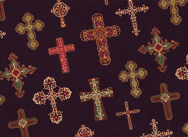 Close-up Surgical Caps Divine Crosses