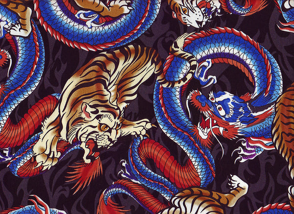 Close-up Stethoscope Covers Dragons Tigers