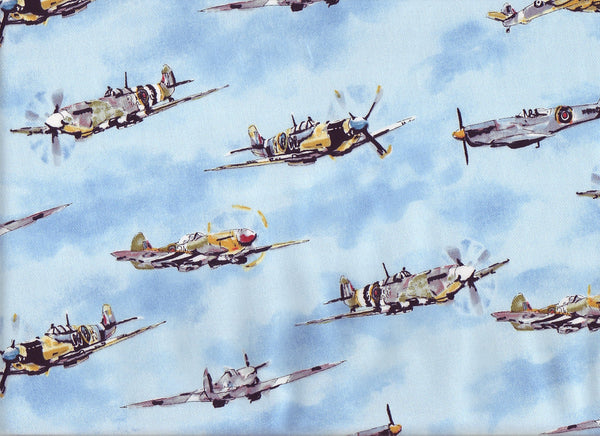 Close-up Fabric Fighter Squadron