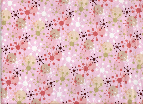 Fabric Close-Up Geometrix Pink