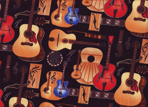Close-up Stethoscope Covers Guitar Shop