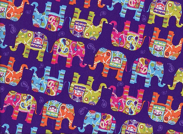 Close-up Stethoscope Covers Magical Elephants