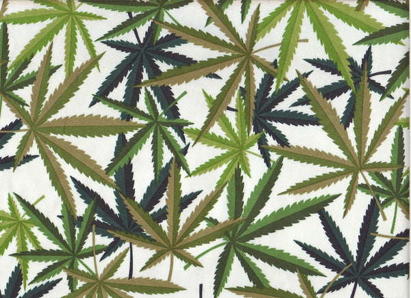 Close-up Fabric Medical Cannabis