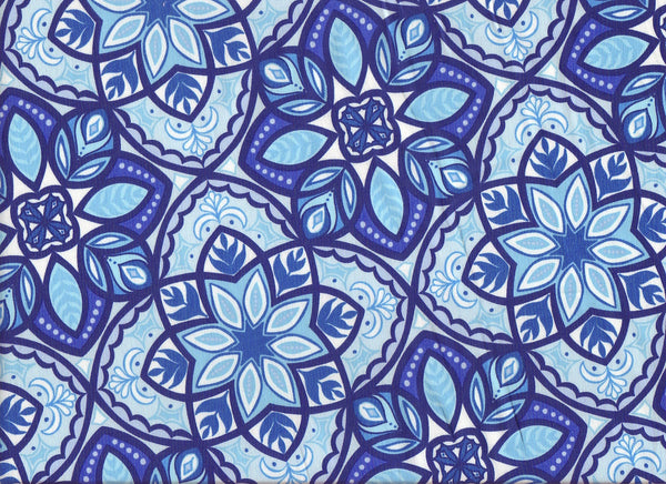 Close-up Fabric Mystic Blue