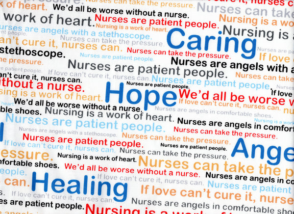 Close Up Nurses Words