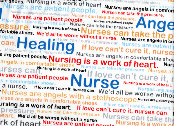 Close Up Nurse Words