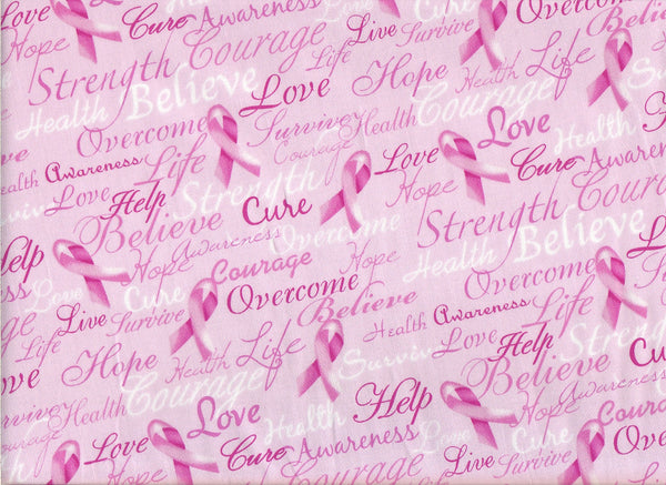 Close-up Fabric Pink Ribbons