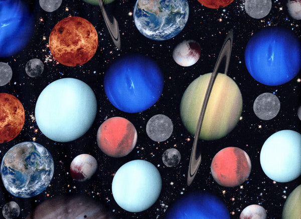 Big Close-Up Planets