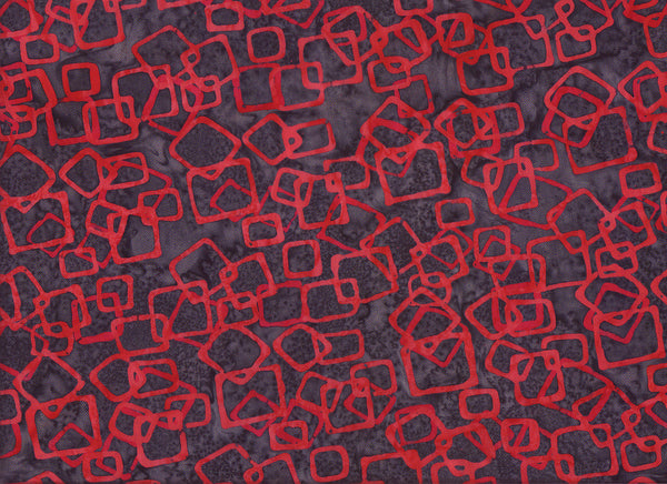 Close-up Fabric Red Hope