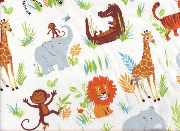 Close-up Fabric Safari Jungle 2