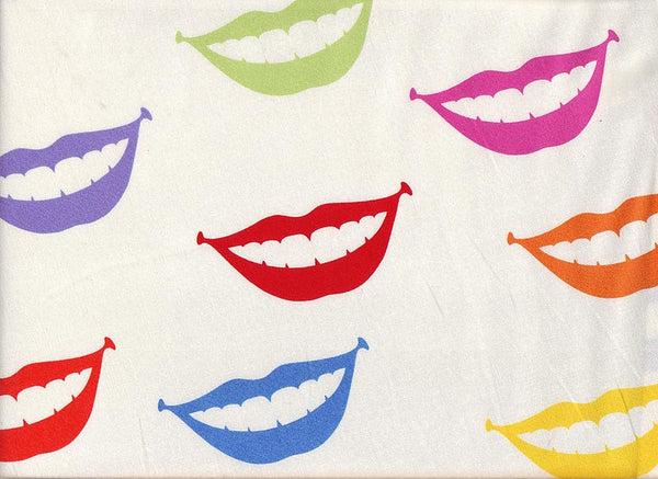 Close-up XL Scrub Surgical Cap Smile