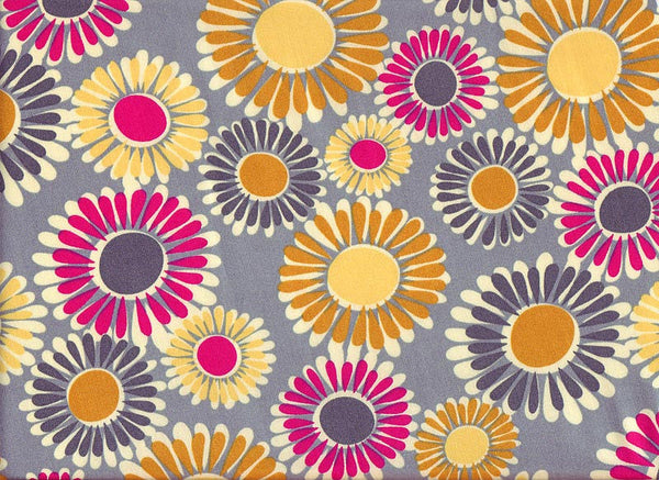 Fabric Close-Up Sunshine Flowers