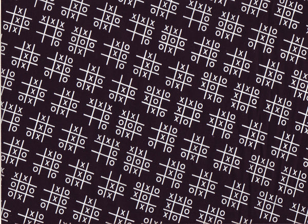 Close-up Fabric Tic Tac Toe